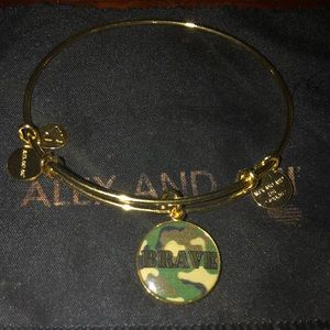Alex and Ani Camo BRAVE Bracelet